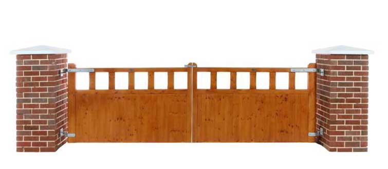 Clare Timber Gates