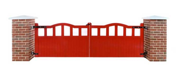 Red Meath Timber gate