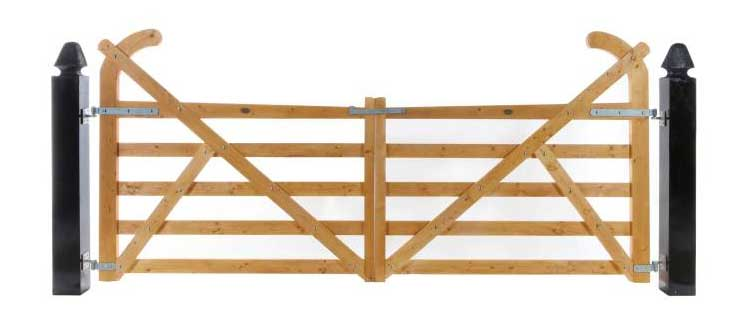 Ranch Timber Gates