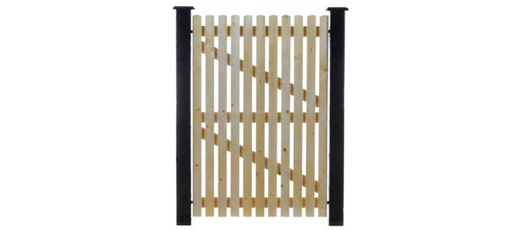 Picket Timber Side Gate