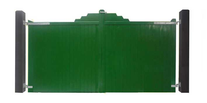 TG and V Solid  Timber Gates