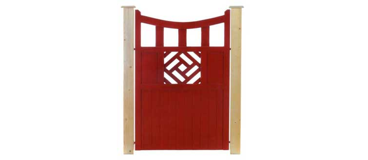 Louth Timber Side Gate