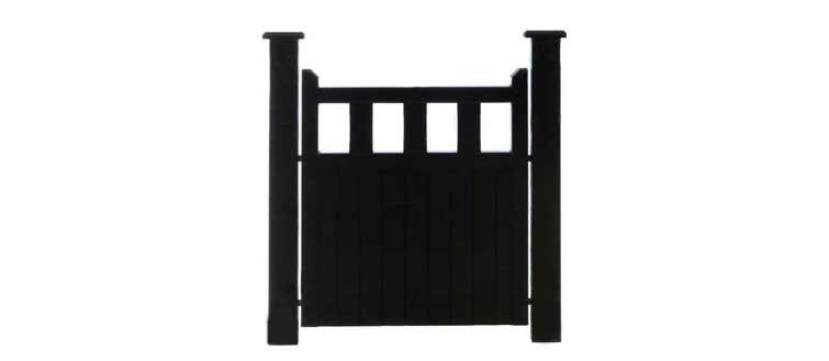 Black Clare Pedestrian Side Gate
