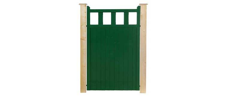 Green Clare Pedestrian Side Gate