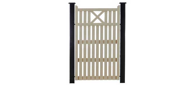 X Timber Side Gates